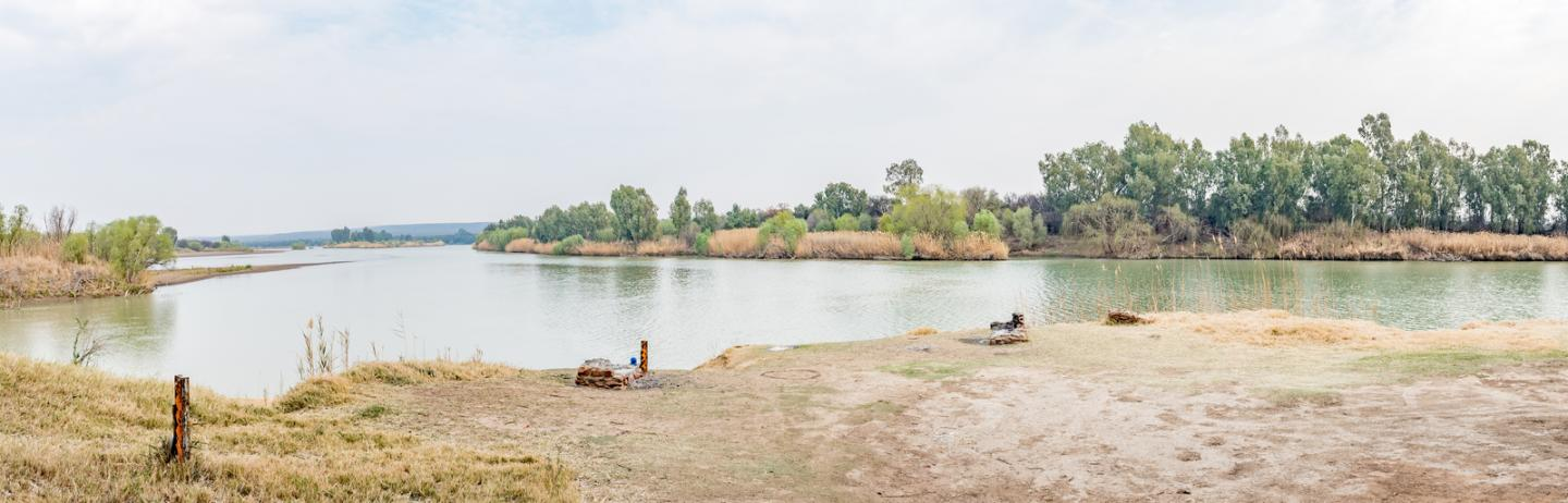 The Vaal River, South Africa