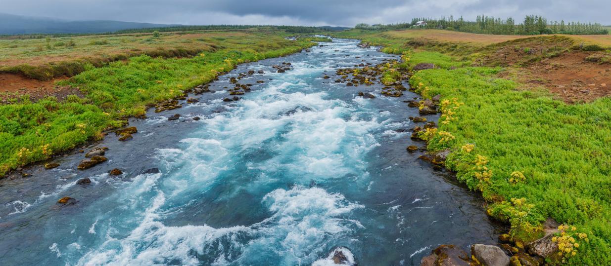 Glacier River, Iceland