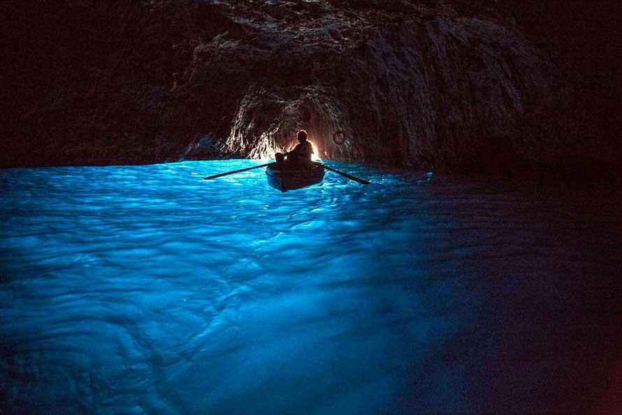 Capri Grotta Azzurra Blue Cave