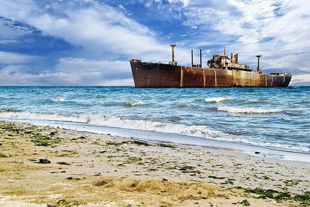Evangelia Shipwreck Costinesti