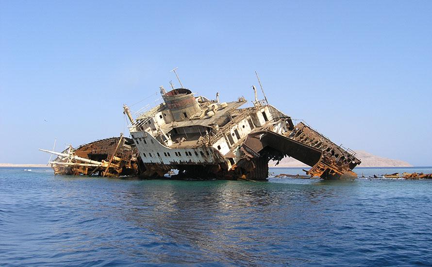 Loullia Shipwreck Egypt