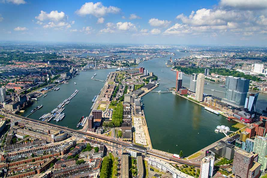 Netherlands Rotterdam Port