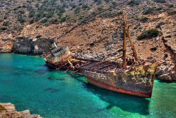 Olympia Shipwreck