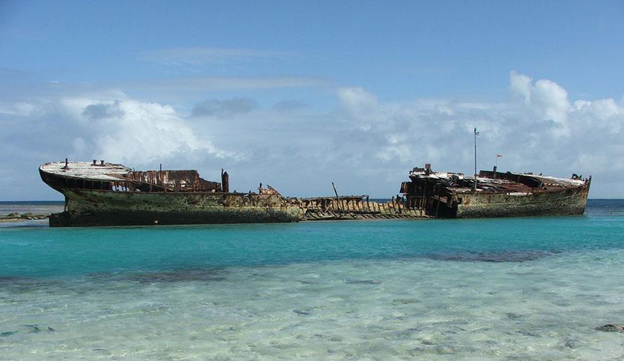 HMAS Protector Shipwreck