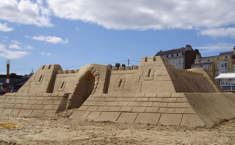 Sand Castle Hotel Dorset England