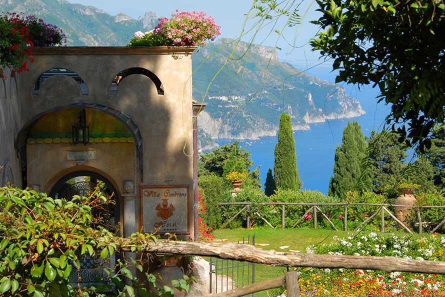 Villa Cimbrone Ravello Amalfi Coast Italy