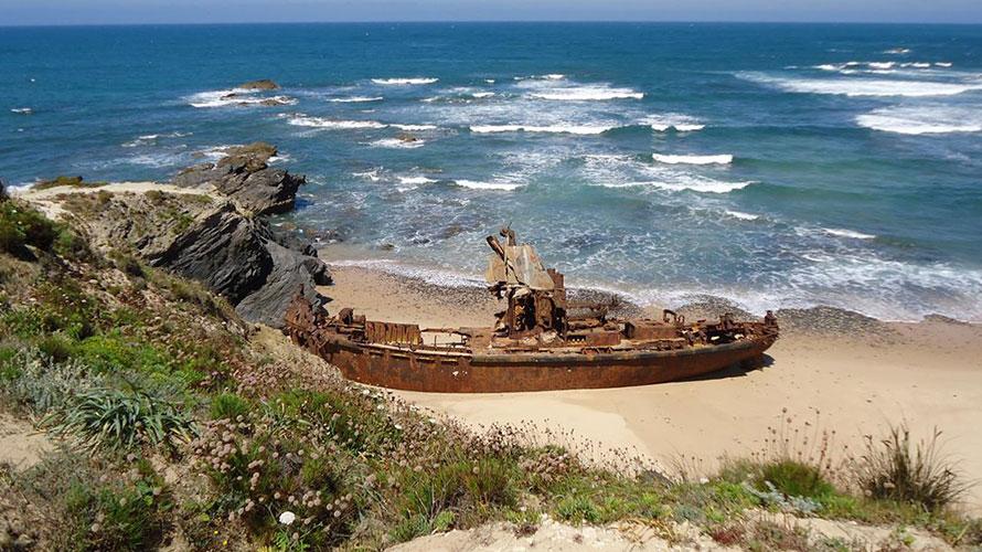 Villa Nova de Milfontes Shipwreck