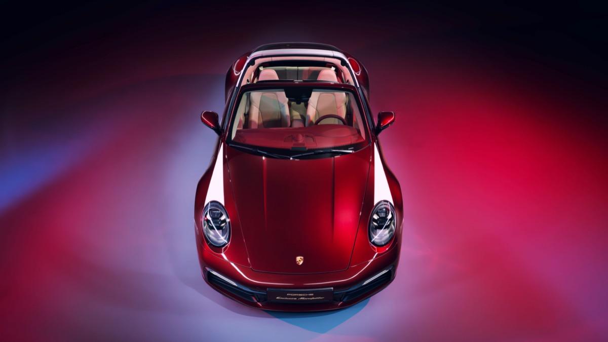 Choose the Porsche 911 Targa Special Edition
